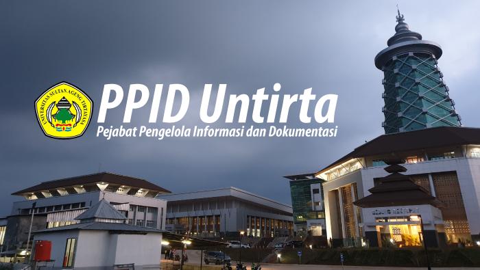 SK Rektor UNTIRTA Tahun 2021 tentang Penetapan Standar Operasional Prosedur (SOP) Layanan Informasi Publik
